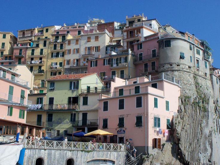 Manarola in La Spezia, Liguria