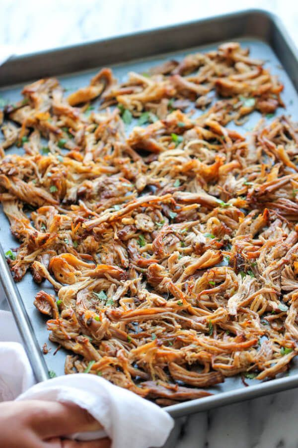 Slow Cooker Clean Eating Pork Carnitas Recipe