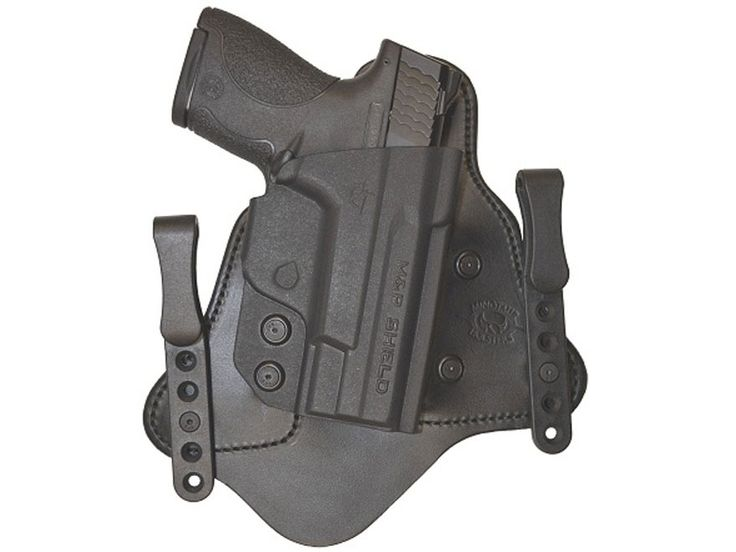 Product detail of Comp-Tac Minotaur MTAC Inside the Waistband Holster Kel-Tec PF9 Kydex and Leather