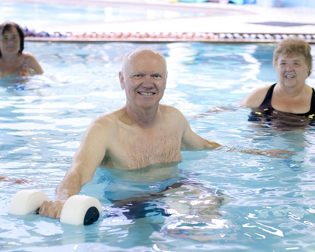 Our aquatics fitness classes are available to adults of all ages at the YMCA of Simcoe/Muskoka
