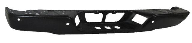 2009-2013 Toyota Tundra Rear Bumper Face Bar W/Parking Aid; Black; W/Rock Warrior Package Tundra 09-13