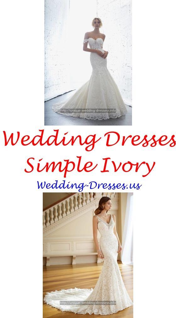 Beautiful wedding dresses aline - boho Mermaid wedding dresses.Flowy wedding dresses pink 4286850344