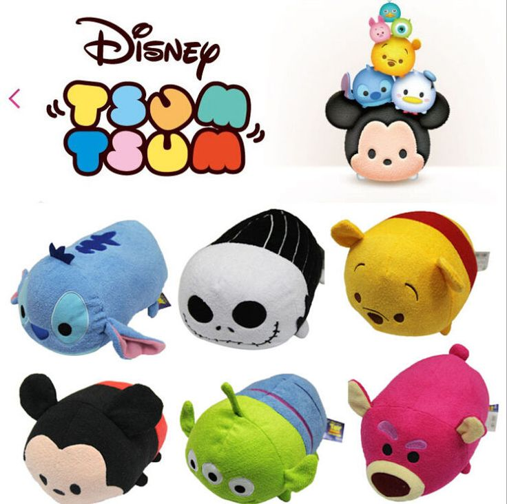 "106 Best Images About Tsum Tsum"" Plush On Pinterest"