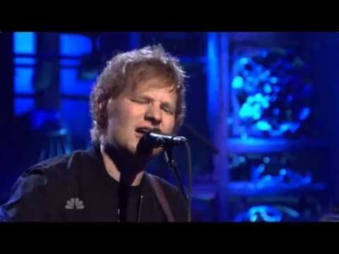 """Ed Sheeran- Don't (SNL Performance) - WATCH IT NOW NBC WILL PROBS REMOVE IT. I like this sooo much it is like a BA grown up """"one night"""""""