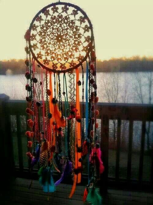 Dream catcher. I always follow my instincts and my dreams. My dream catcher helps me remember in the morning ❤️