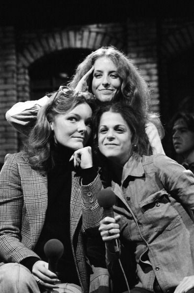 Jane Curtin, Laraine Newman and Gilda Radner      SATURDAY NIGHT LIVE……..ccp
