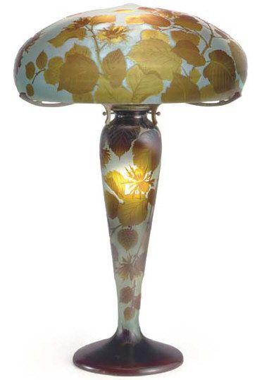 Emile Gallé-lamp