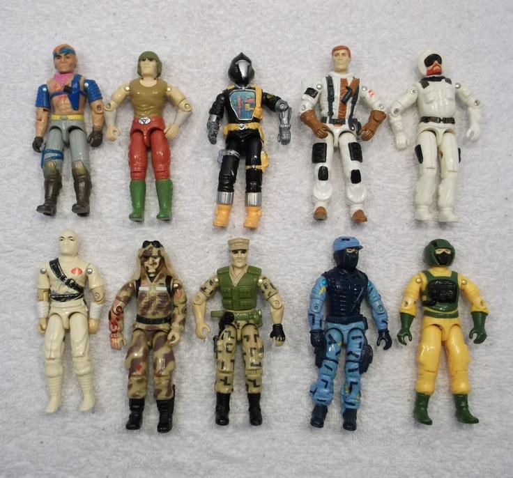 Gi Joe Toys 1980s