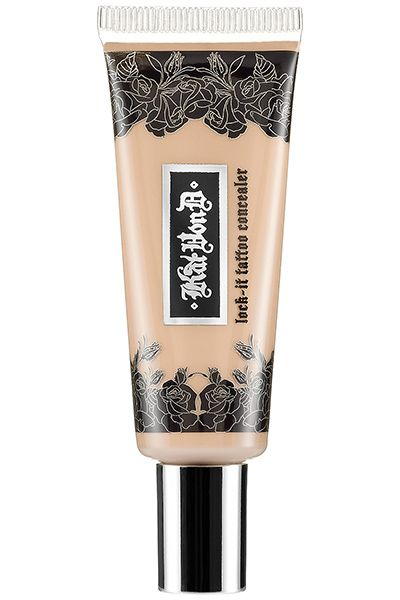 Kat Von D Lock-It Tattoo Concealer An unlikely contender in the stakes for excellent concealers, this full-coverage concealer ($25, sephora...