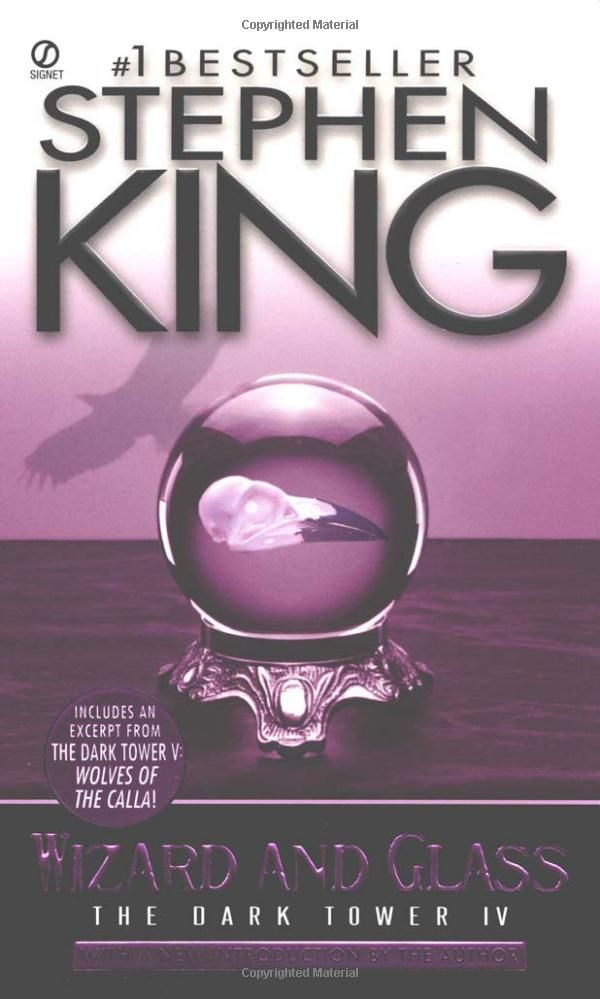 Amazon.com: Wizard and Glass (The Dark Tower, Book 4) (9780451210876): Stephen King: BooksStephen King Book, Dark Towers Series, Worth Reading, Towers Iv, The Dark Towers, Glasses, Book Worth, Wizards, Stephen Kings
