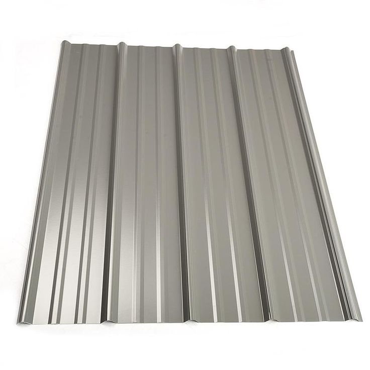 Best Metal Sales 3 Ft X 8 Ft Ribbed Metal Roof Panel 2312025Lw 400 x 300