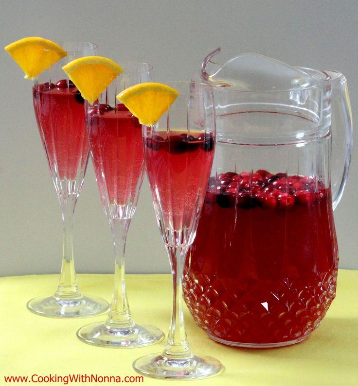 Cranberry Spritz - Prosecco, Cranberry, Cointreau