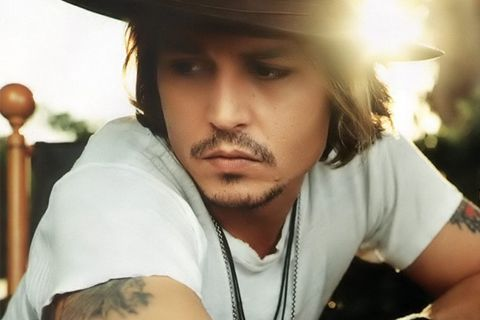 Johnny Depp! My second fave. actor, who's been in countless films I love, including Tim Burton's 'Edward Scissorhands' and 'Alice in Wonderland', 'What's Eating Gilbert Grape', the 'POTC' films, 'Sweeney Todd', and 'Sleepy Hollow'.