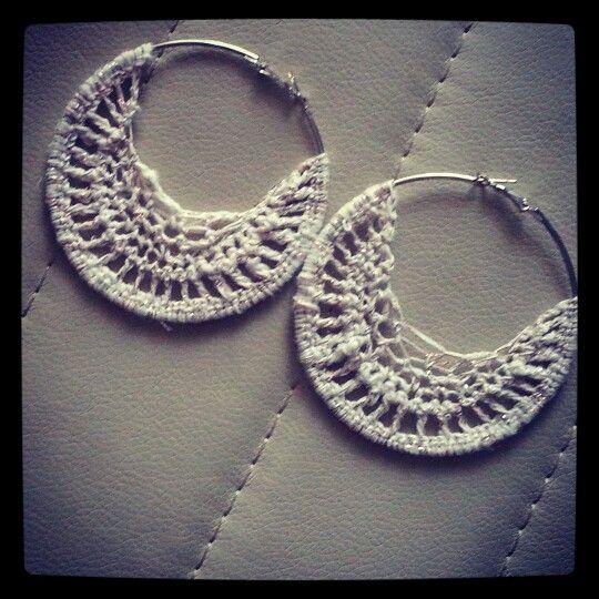 handmade crochet earrings