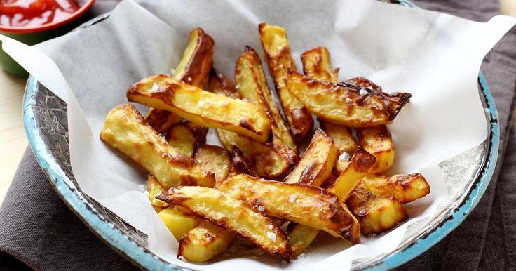 Recette - Comment faire des frites au four qui ressemblent à des vraies frites en pas à pas