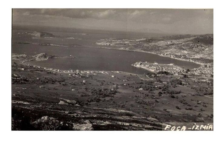 1960 yılı öncesinde Foça