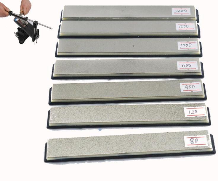 Ruixin Couteau Apex aiguiseur specila utiliser diamant pierre à aiguiser 80 120 200 400 600 800 1000 1500 2000 Grit