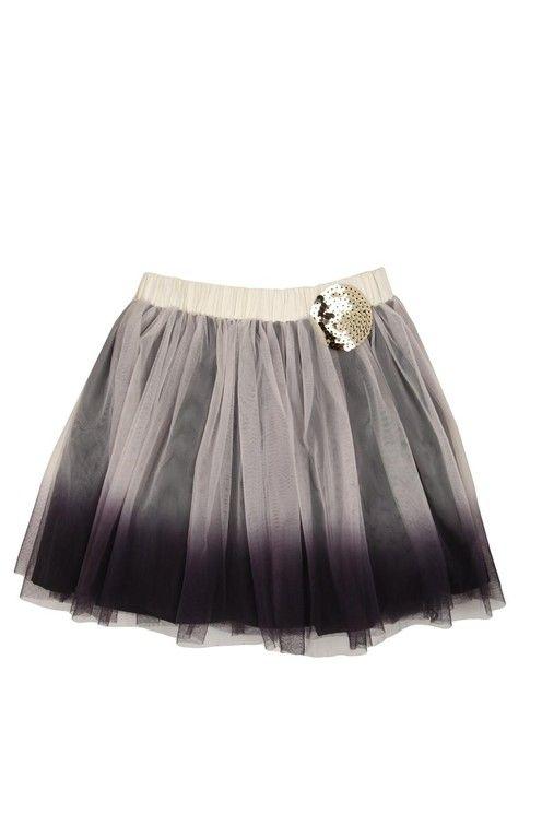 glam skirt. tille tulle skirt BLACKBERRY/DIP DYE SEQUIN