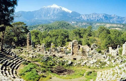 olympos antalya --Ancient Theatre