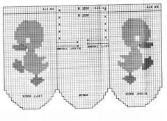 Bilderesultat for варежки орнаментом схемы