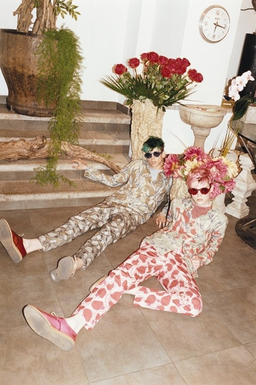 Cole Mohr and Shame Gambill in Marc Jacobs S/S13 Photography by Juergen Teller, Styling by Alister Mackie