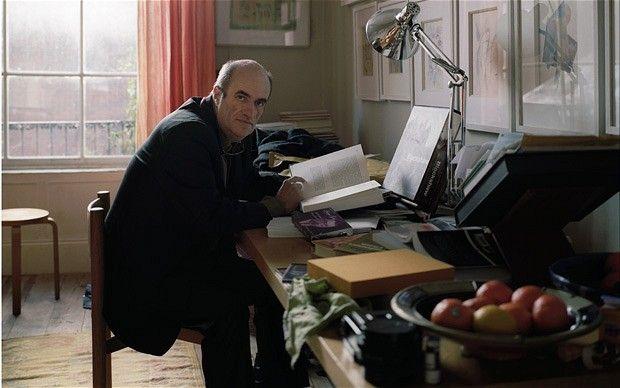 Colm Tóibín at home in Dublin