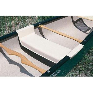 Center seat snaps into place in most Old Town canoes Durable ABS plastic construction Can support 300 lbs – an adult or two kids side-by-side Fits Old Town Canoes with widths of 34 to 37 inches The Snap-in seat snugly snaps over vinyl gunwales and stays in place until you pop it out. This...