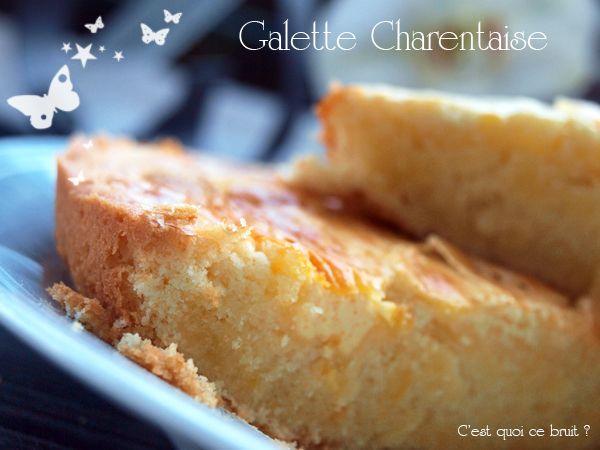 Recette de la galette charentaise, un bon gâteau facile à faire pour le goûter.