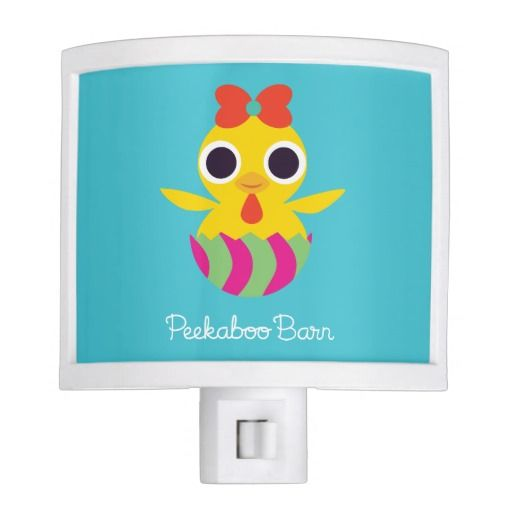 Peekaboo Barn Easter   Bayla the Chick. Regalos, Gifts. #lámpara #lamps