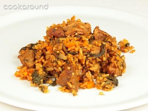 Riso con carne e verdure: Ricette Tunisia | Cookaround