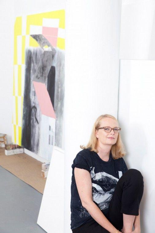 Charline von Heyl, Abstract Artist