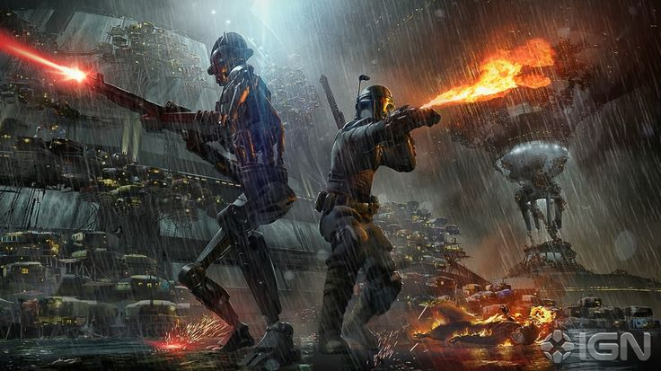 star wars 1313 (cancelled game) concept art