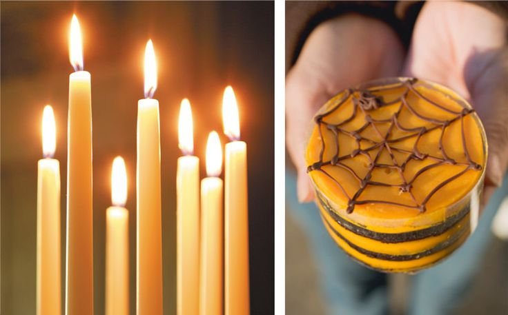 Halloween - Light som candles and snuggle up at home - or go out for trick or treat!