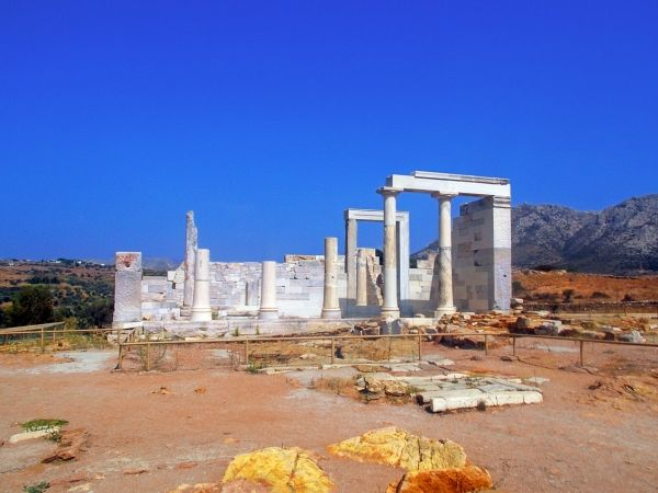 Temple of Demeter close to Sangri