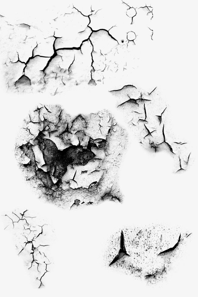 Split Marks Wall Cracks Blasted Drought PNG Transparent