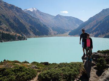 Big Almaty lake Kazakhstan
