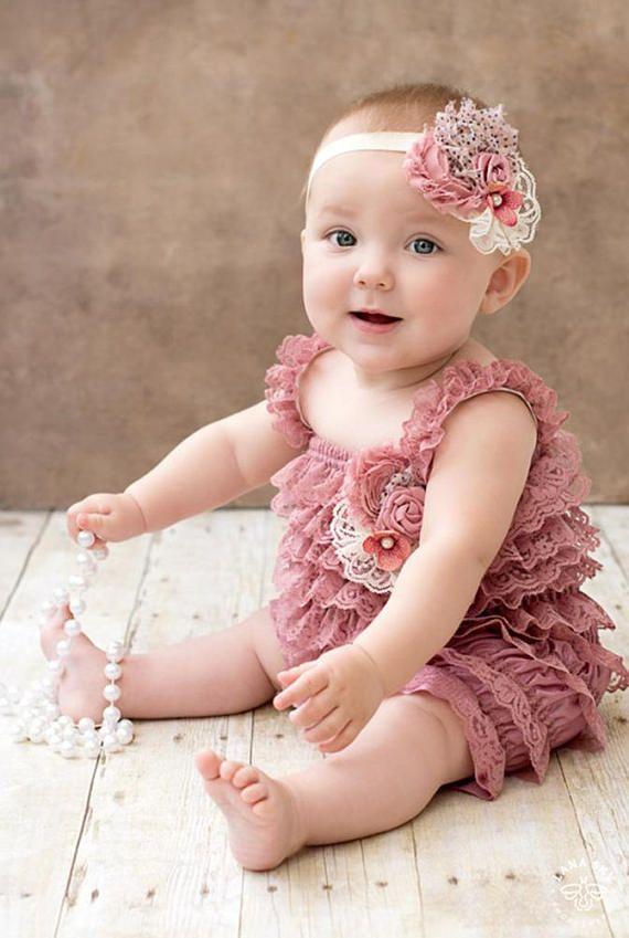 Las muchachas del bebé niño cordón mameluco Petti mameluco