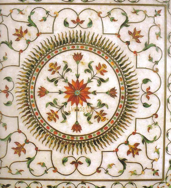 Taj Mahal Inlaid Marbles Taj Mahal Pinterest