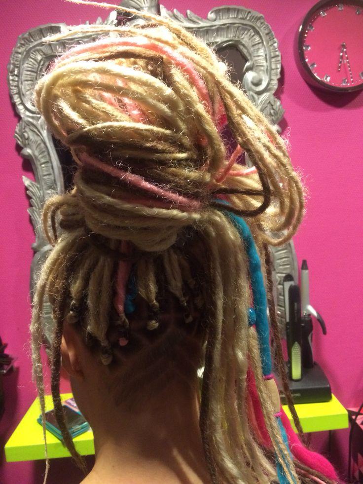 Dreads undercut hairtribal by BiancaDreads.nl