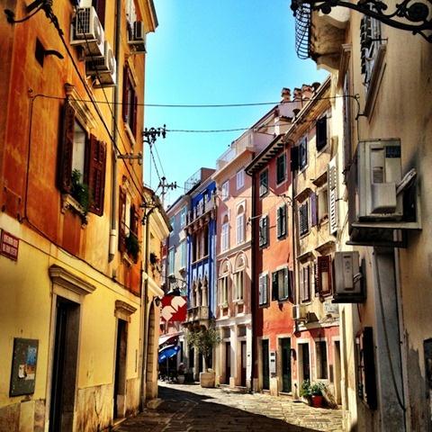 Piran's Pretty Sidestreets