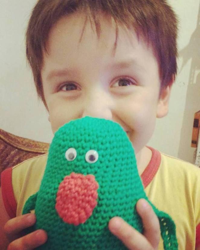 #crochet #toys #amigurumi #slimer #ghostbusters