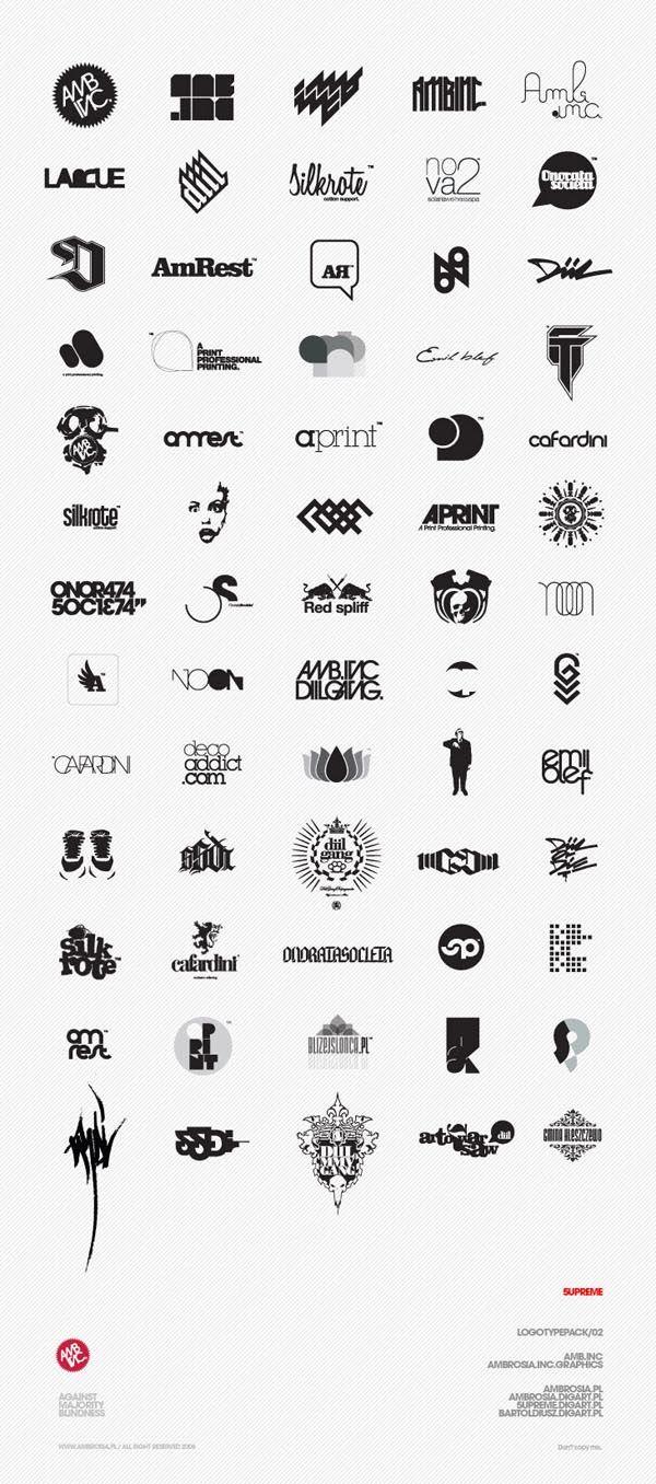 Various logo design inspiration