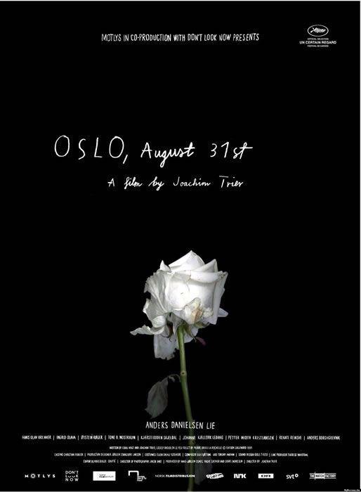 Cartel de la película #Oslo31DeAgosto de @CasadePeliculas