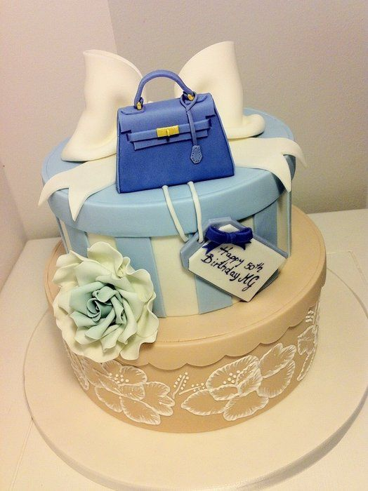 Cake Decorating Bag Instructions : 17 best ideas about Hat Box Cake on Pinterest Present ...