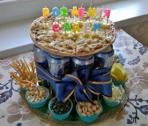 Подарок мужчине на день рождение краснодар из торта купить комнатные цветы недорого