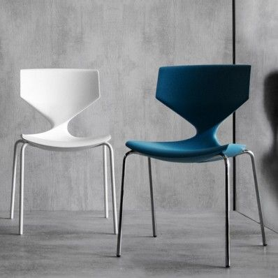 a timeless design with a literal twist the quo stackable chair combines easy accessible style with the durability you need from your everyday furniture