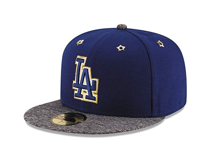 on feet shots of super popular various design Los Angeles Dodgers On Field hat Gold Outline Review | Dodgers ...