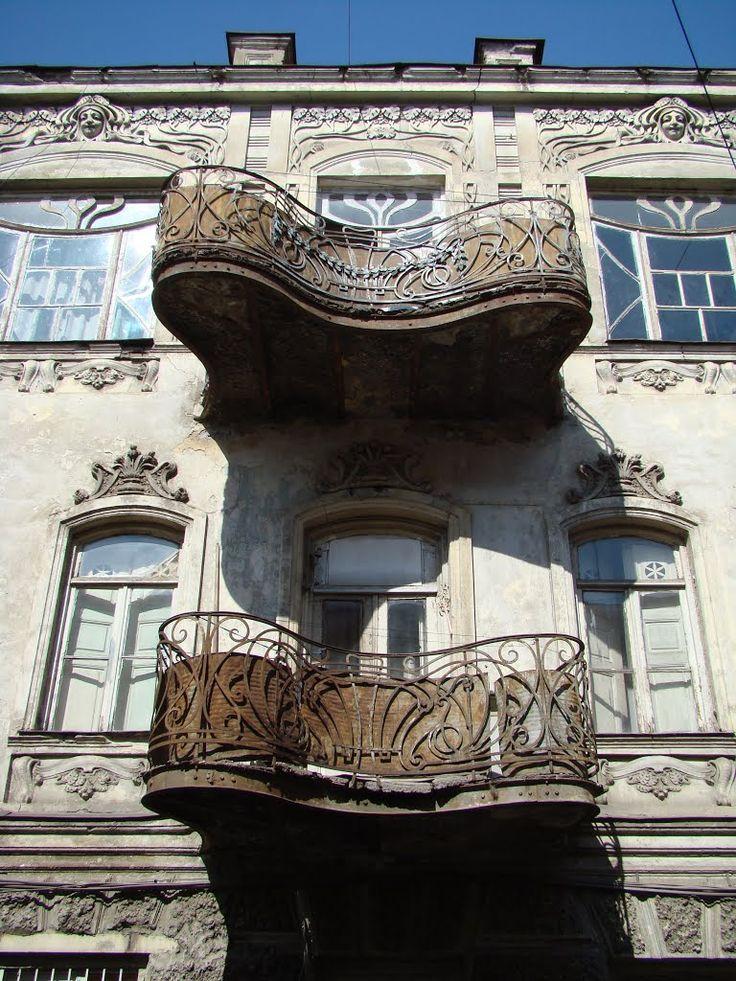 Art Nouveau Balcony, Tbilisi
