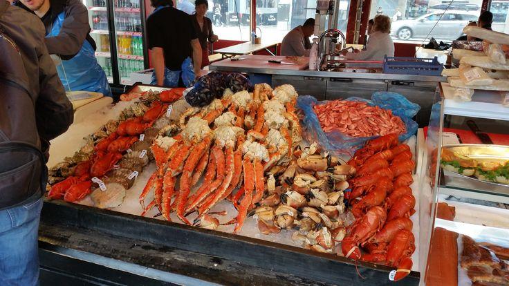 Fenomenale vismarkt in Bergen