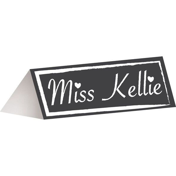 Check out Chalkboard Place Cards (12 Pack) - Wholesale Party Decorations Accessories and Decorations from Wholesale Party Supplies